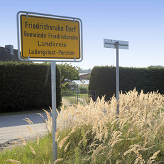 Friedrichsruhe Dorf  ist ein Ortsteil der Gemeinde Friedrichsruhe im Landkreis Ludwigslust-Parchim in Mecklenburg-Vorpommern.