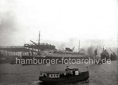 Passagierschiff EUROPA - Werft Blohm & Voss; 1930.