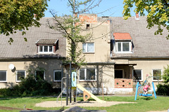Häschendorf wird erstmalig 1302 urkundlich erwähnt und gehört seit 1958 als Ortsteil zu Mönchhagen im Landkreis Rostock in Mecklenburg-Vorpommern.