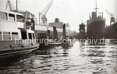 Schiffsneubau, Tanker AL MALIK AL SAUD AWAL - HOWALDSWERKE HAMBURG AG; 1954.