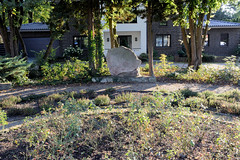 Gedenkstätte Ernst Thälmann am Seminargarten in Ludwigslust.