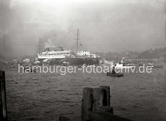 Schnelldampfer EUROPA - Nordatlantik-Liner der Norddeutschen Lloyds ; 1930.