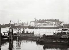 Passagierschiff POTSDAM - Werft BLOHM & VOSS; 1935.