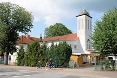 Fotos aus dem Hamburger Stadtteil Neugraben-Fischbek, Bezirk Hamburg Harburg. Syrisch-orthodoxen Kirche von Antiochien - St. Dimet - in der Neuwiedenthaler Straße.