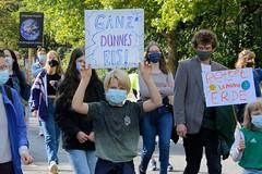 Klimastreik - Demonstration  Fridays For Future in Hamburg am 25.09.2020.