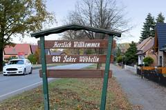 Wöbbelin ist eine Gemeinde im Landkreis Ludwigslust-Parchim in Mecklenburg-Vorpommern.