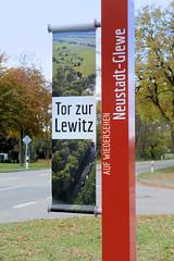 Neustadt-Glewe  ist eine Stadt im Landkreis Ludwigslust-Parchim in Mecklenburg-Vorpommern
