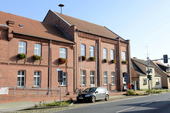 Die Stadt Jerichow liegt an einem alten Elbarm im Landkreis Jerichower Land in Sachsen-Anhalt.