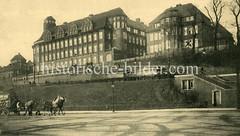 Altes Bild vom Institut für  Schiffs- und Tropenkrankheiten in Hamburg Sankt Pauli; errichtet zwischen1920 und 1914, Architekt Fritz Schumacher.