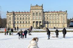 Winter in  Ludwigslust, Mecklenburg-Vorpommern.