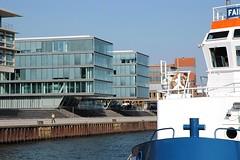 Architekturfotografie in Hamburg - Bürohäuser in Neumühlen.