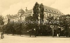 X0093345-augenabteilung Historische Aufnahmen vom Eppendorfer Krankenhaus in  Hamburg.