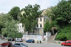 trasse Neumühlen - Aufgang der Elbtreppe, die zur Elbchaussee führt.
