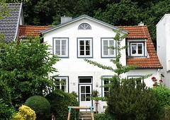 Alte Architektur - Wohngebäude in Neumühlen.