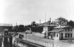 Fotos vom historischen Hamburg - St. Pauli Fährhaus.
