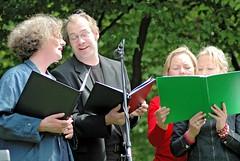 Auftritt des Chors Klezmerlech der Hamburger Jüdischen Gemeinde.     (2006)