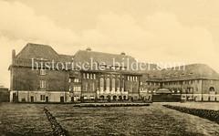 X00933482_erica-schwesternhaus  Historische Aufnahmen vom Eppendorfer Krankenhaus in  Hamburg.