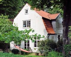 Historisches Wohnhaus, Strasse Neumühlen - Hängematte im Garten.