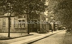 X0093347_haus-38-44 Historische Aufnahmen vom Eppendorfer Krankenhaus in  Hamburg.