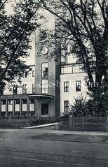 Gebäude vom Reichsrundfunk in der Rothenbaumchaussee in Hamburg Harvestehude.