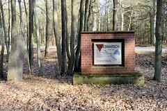 Gedenkstätte Todesmarsch im Belower Wald  für die Opfer des Todesmarsches des Konzentrationslagers Sachsenhausen.