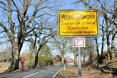 Wredenhagen ist ein Ortsteil der Gemeinde Eldetal im  Landkreis Mecklenburgische Seenplatte in Mecklenburg-Vorpommern.