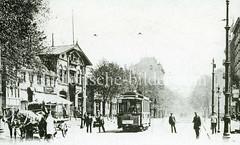 Historisches Bild aus Hamburg Hamm - Hammer Landstraße