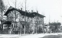 Historische Bilder aus dem Hamburger Stadtteil Borgfelde; Bethesda-Krankenhaus an der Burgstraße.