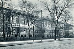 Elisabeth-Krankenhaus im Kleinen Schäferkamp in Hamburg Eimsbüttel.