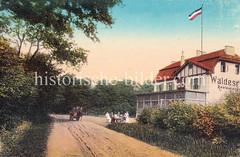 Restaurant / Café Waldeslust, Waldesruh im Niendorfer Gehege.