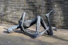 Skulptur KZ Gedenkstaette Hambur Neuengamme