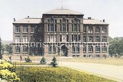 Historische Ansicht vom Matthias Claudius Gymnasium in Hamburg Wandsbek.