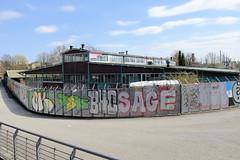 Fotos aus dem Hamburger Stadtteil Rothenburgsort; ehem. Verwertungsstelle der einstigen Bundesmonopolverwaltung für Branntwein.