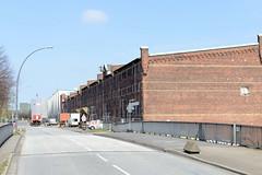 Lagerhaus G am Dessauer Ufer, Hamburg Kleiner Grasbrook; Dessauer Straße.