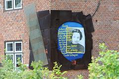 Erinnerungstafel, Denkmal an Lucielle Eichengreen - Lawaetzhaus Neumühlen