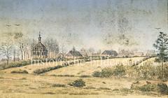 Historische Ansicht von Hamburg Niendorf um 1860.