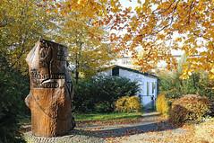Poppenbüttler Gedenkstaette Plattenhaus - Plattenbau KZ Aussenlager Sasel - Mahnmal am Kritenbarg