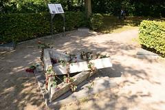 Gedenkstätte Konzentrationslager Wandsbek an der Rahlau - das Barackenlager war ein Aussenlager vom KZ Neuengamme