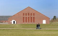KZ Gedenkstaette Hamburg Neuengamme - Gebäude des Klinkerwerk