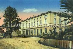 92Historische Bilder von Ludwigslust, Mekclenburg-Vorpommern.