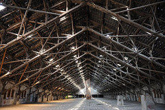 Gedenkstaette Konzentrationslager Neuengamme - Gebäude des Klinkerwerks