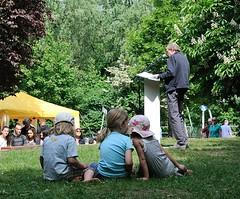 Lesung zur Erinnerung an die Bücherverbrennung 1933 in Hamburg. (2006)