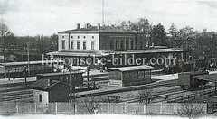 Historische Bilder von Ludwigslust, Mekclenburg-Vorpommern.