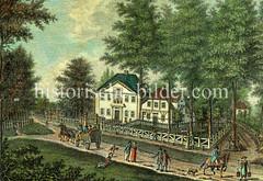 Ansicht des Doormannschen Gartenhauses im Eimsbüttler Gehölz, ca. 1810.