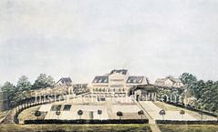 Ehem. Klosterbleiche des Klosters Harvestehude - neuer Besitzer Fontenay, der das Gebiet 1840 zur Stiftung  (Fidei-Commiss) umwandelte.