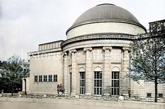 Anbau der Hamburger Kunsthalle in der Altstadt - Entwurf Albert Erbe / Alfred Lichtwark, Realisierung Kurt Schumacher 1919.   (ca. 1923)