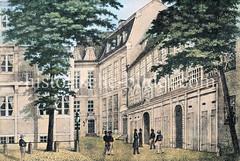 Gebäude des ehem. Johannisklosters in der Hamburger Alststadt; nach Schließung des Kloster wurden die Räumlichkeiten für das Gymnasium / Johanneum und die Stadtbibliothek genutzt.