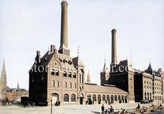 Das Kesselhaus  wurde von 1886 bis 1887 als Kraftwerk für die Speicherstadt nach Plänen des Architekten Franz Andreas Meyer errichtet.