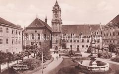 Historische Ansicht von Pressburg, Bratislava.