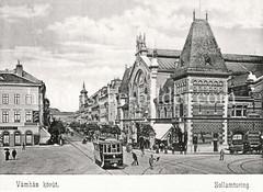 Historisches Foto von Budapest (ca. 1900); Zollamtsring.